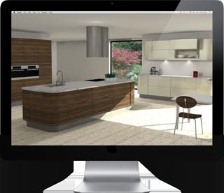 Kitchen CGI image