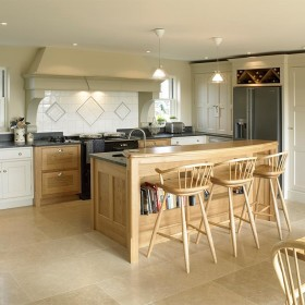 Handmade kitchens - Wychwood Cabinet Makers