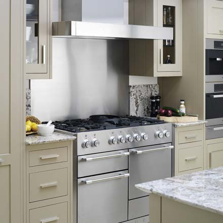 Kitchen appliances from Wychwood English Interiors