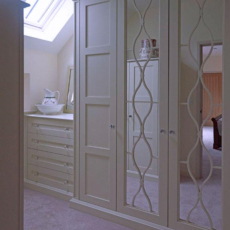 Bedroom storage solutions - Wychwood English Interiors
