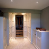 Dressing room storage solutions - Wychwood English Interiors
