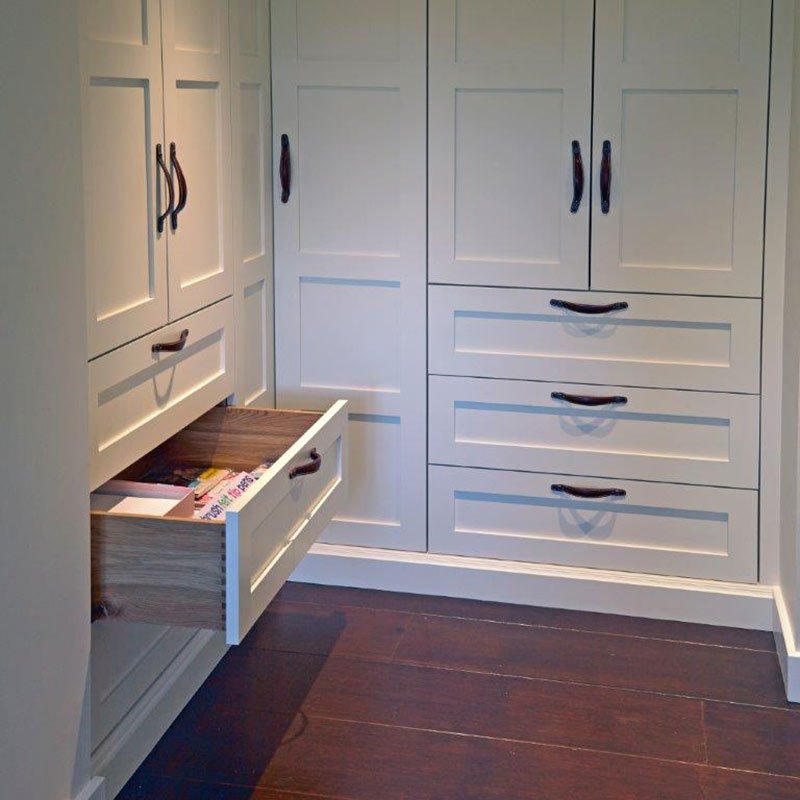 TV room storage solutions - Wychwood English Interiors