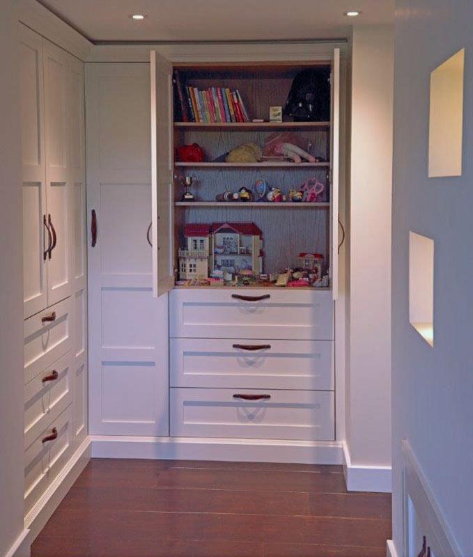 TV room storage solutions - Wychwood English Interiors